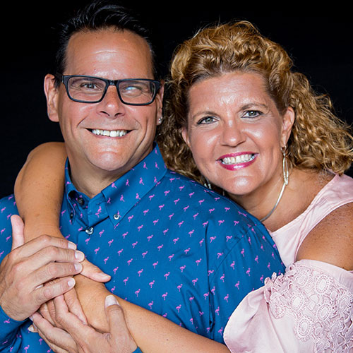 Ann Carol Pence and Anthony Rodriguez of Aurora Theatre
